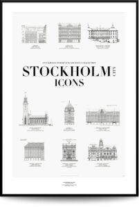Stockholm City Icons