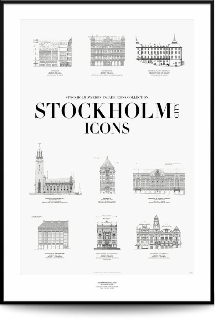 Stockholm City Icons